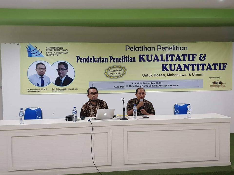MPP ADPERTISI Laksanakan Pelatihan Metode Penelitian